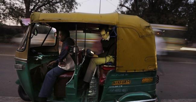 Rickshaw research reveals extreme Delhi pollution