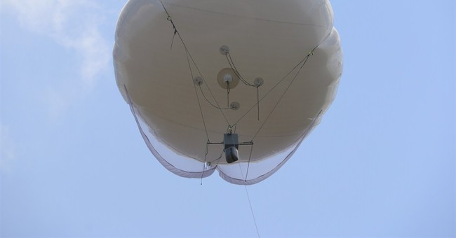Spy balloons give police new view of Jerusalem