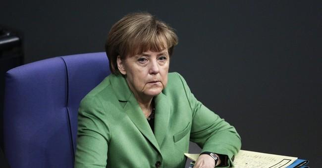 "Merkel: Continued Russia sanctions ""unavoidable"""