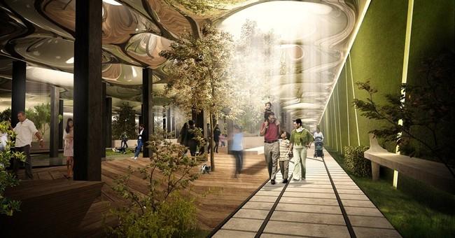 Developers look to create underground NYC park