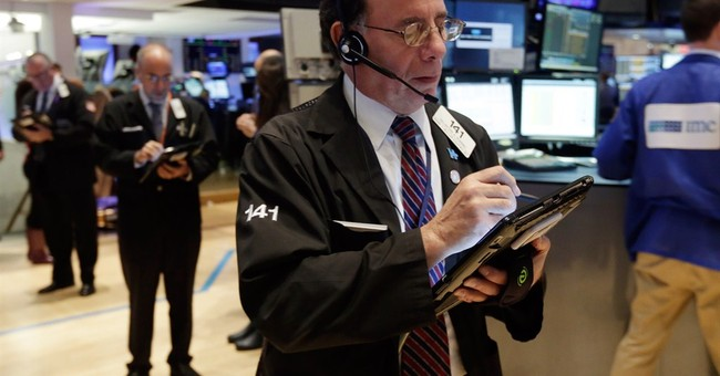 US stock indexes hold near record; Deere slumps