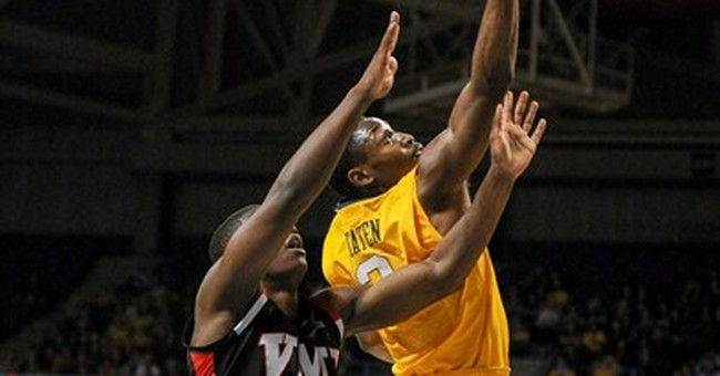 No. 21 West Virginia beats VMI 103-72