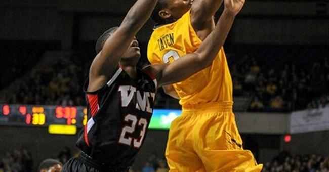 No. 21 West Virginia beats VMI 103-72