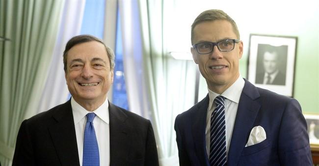 ECB's Draghi: Euro monetary union 'incomplete'