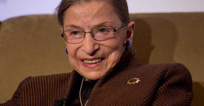 Ginsburg back at home, expected at court next week
