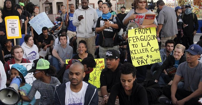 Ferguson fallout: Scores arrested in Calif. unrest