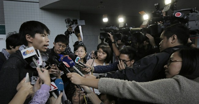 Hong Kong protest movement's unlikely teen leader