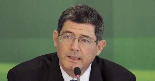 Brazil's Rousseff names banker as finance minister