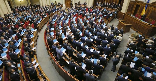 New Ukraine parliament called to fight corruption