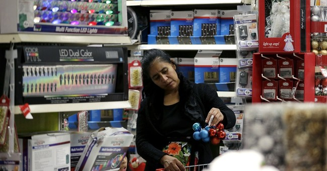 Early-bird shoppers turn out on Thanksgiving