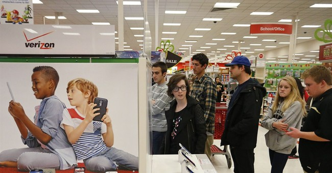 BLACK FRIDAY LIVE: Thinner crowds, protests, beer