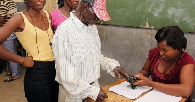 Namibia ruling party leads in early vote results