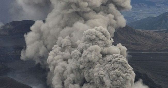 Volcano in south Japan erupts, disrupting flights