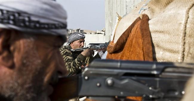 Islamic State group attacks Kobani from Turkey