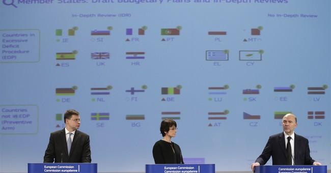 EU won't sanction France, Italy on budget yet