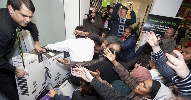 Black Friday problems hit Britain