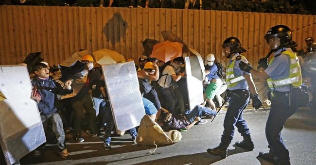 Hong Kong teen protest leader on hunger strike