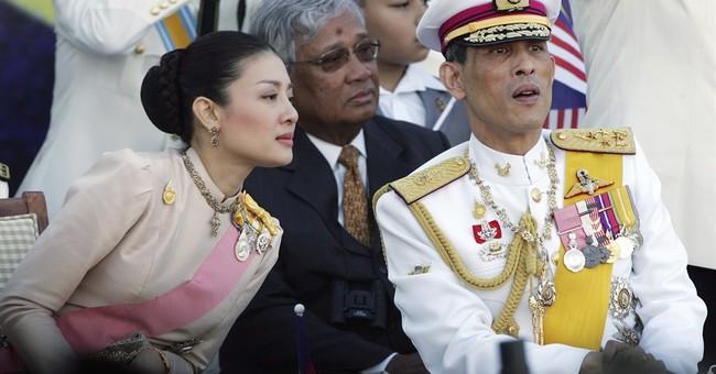 Thai crown prince strips wife's kin of royal name