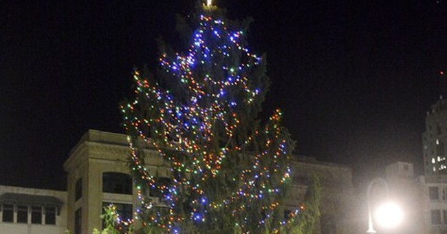 City plans celebration for 'Charlie Brown' tree