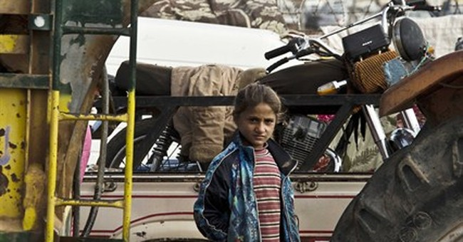 INSIDE KOBANI: Kurdish civilians endure IS fight