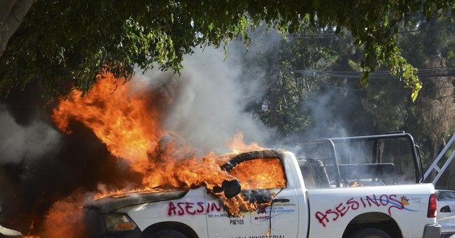 Mexico protests target state offices, oil refinery