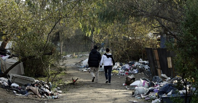 Clear out of Silicon Valley homeless camp coming