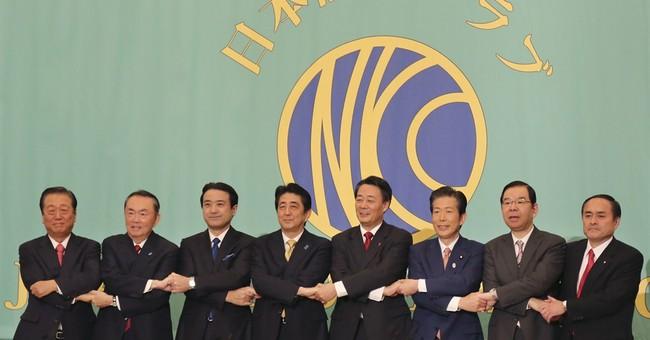 Japan opposition struggles against Abe in debate