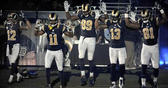 Rams, police differ on Ferguson protest apology