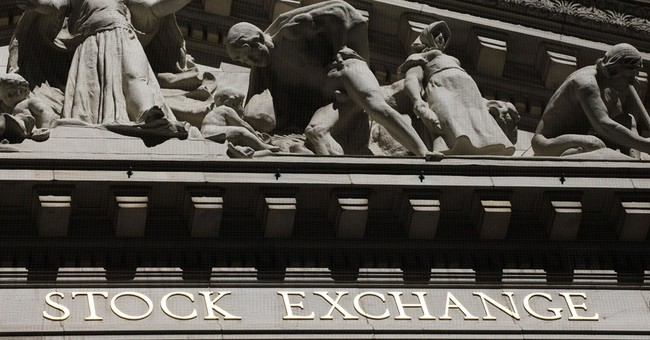 Stocks sink after retail sales slip, China slows