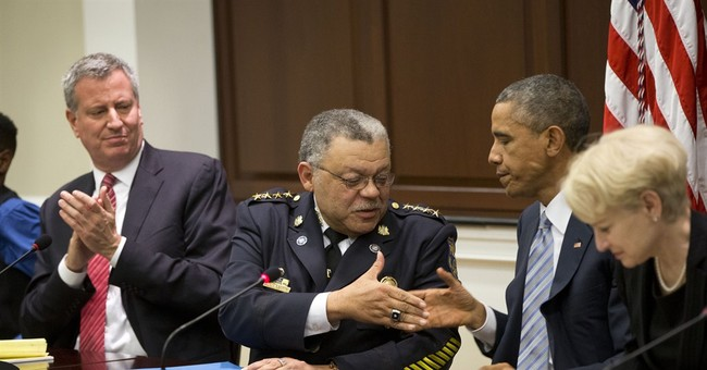 Obama: Wants to avoid 'militarized' police culture
