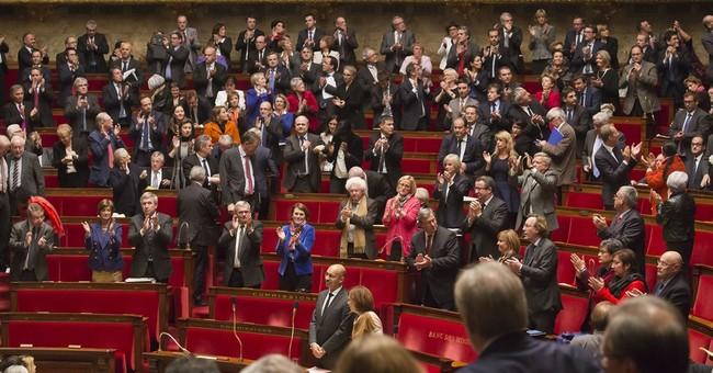 French vote urges recognition of Palestinian state