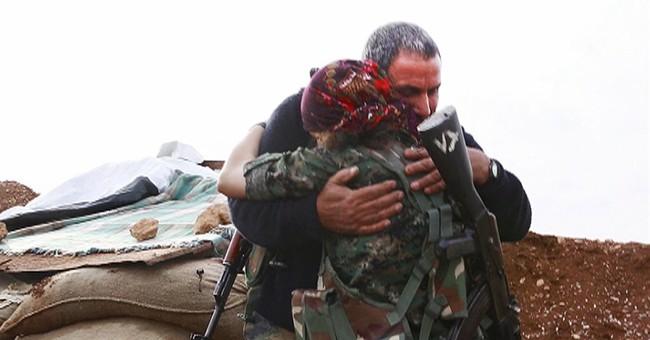 INSIDE KOBANI: Kurdish women on the frontline