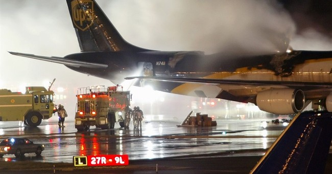 Air shipments of batteries could be fire risk