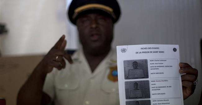 Haiti police say 34 inmates flee in prison break