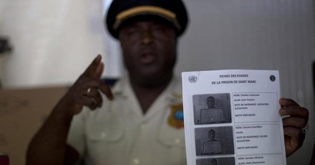 Haiti police say 34 inmates flee in prison break