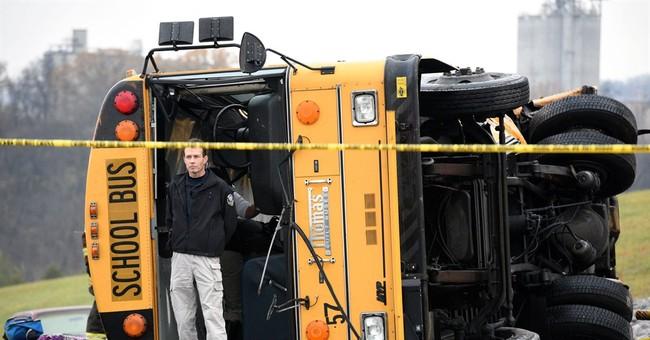 2 children, adult killed in Tenn. school bus crash