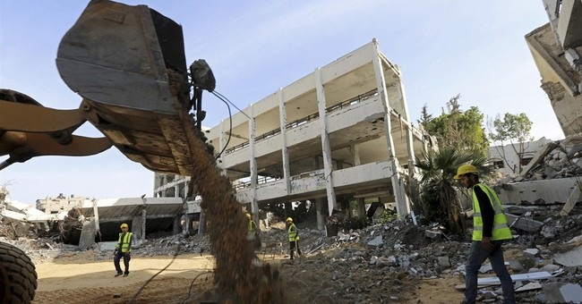 Project begins to remove war rubble in Gaza