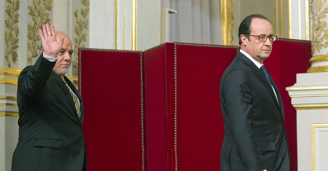 France is ready to step up airstrikes in Iraq