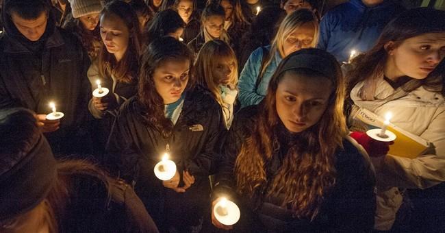 Vigil held for missing Pennsylvania college senior