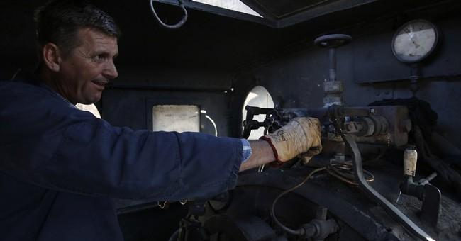 AP PHOTOS: Bosnian steam train tourist attraction