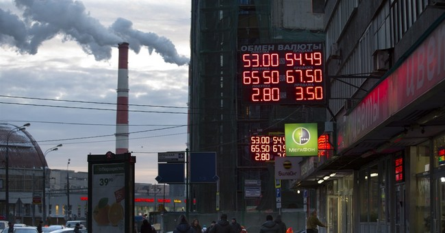 Western sanctions, ruble crash hit Russians hard