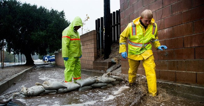Rain falls for a second day on parched California