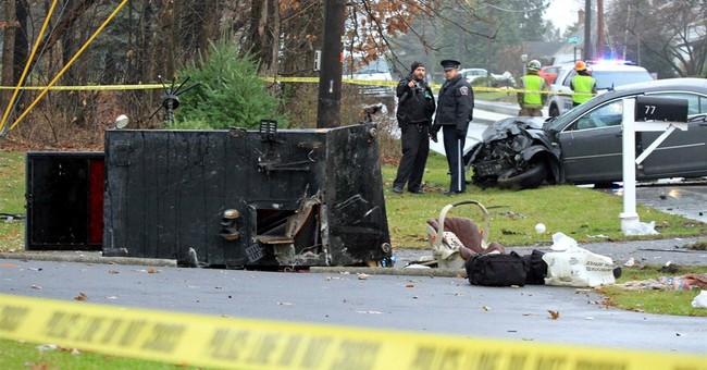 5 hurt when car, Amish buggy crash head-on