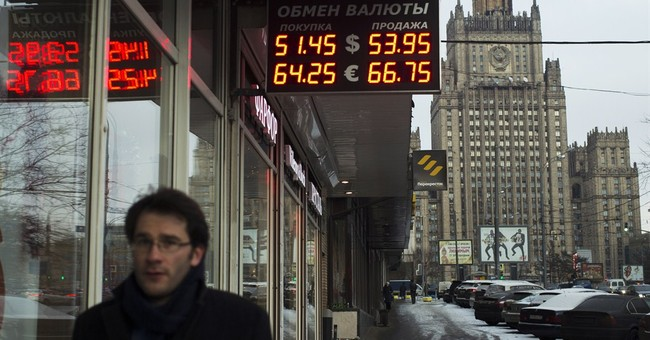 Russian ruble bounces off another record low