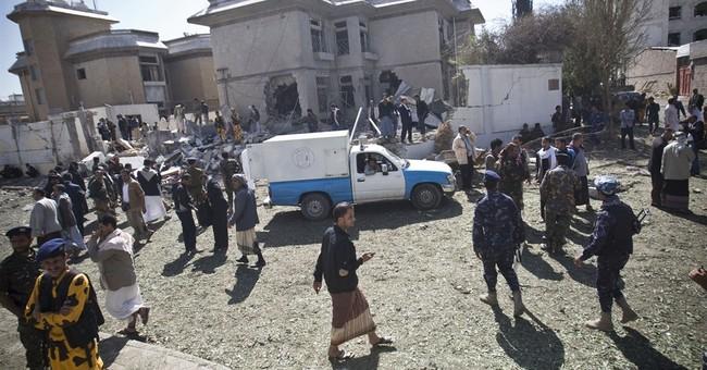 2 killed in bombing by home of Iran's Yemen envoy