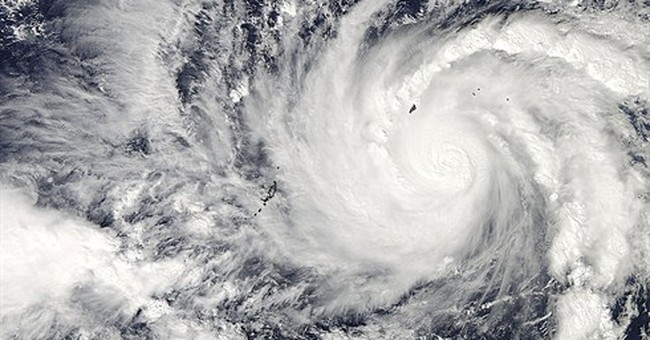 Philippines braces for powerful, erratic typhoon