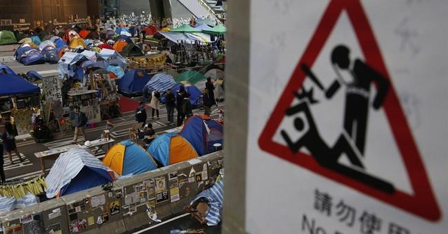 Hong Kong student leaders mull protest retreat
