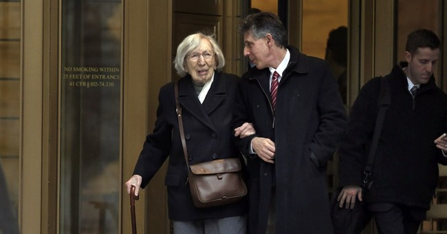 Woman, 98, loses bid on atomic spy case conviction