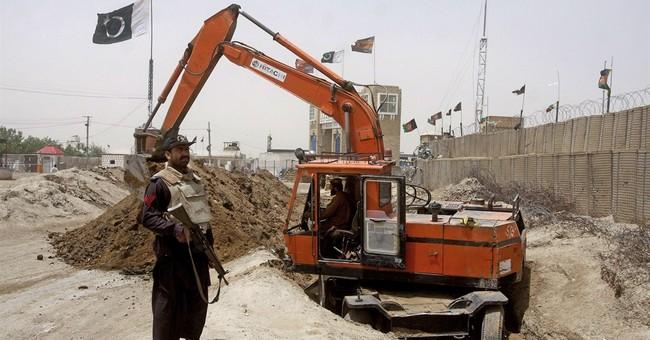 Pakistan trench along Afghan border enrages Kabul