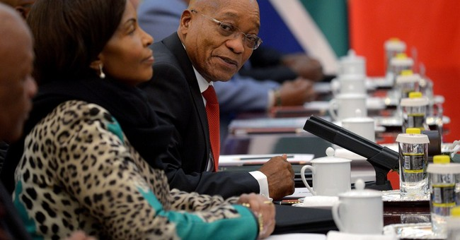South Africa's Zuma in China to talk about trade